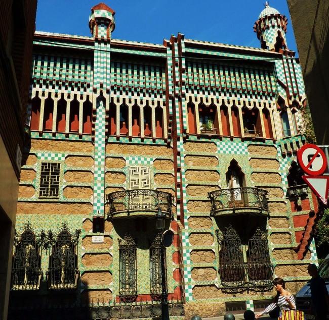Дом Висенс (Casa Vicens) — частный жилой дом в Барселоне (1883—1885), Гауди
