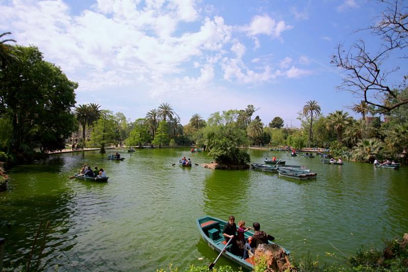 Озеро в Парке Сьютаделья