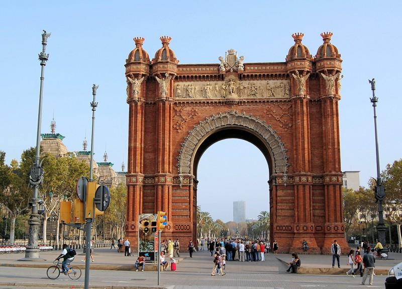 Триумфальная арка (Arco del Triunfo)