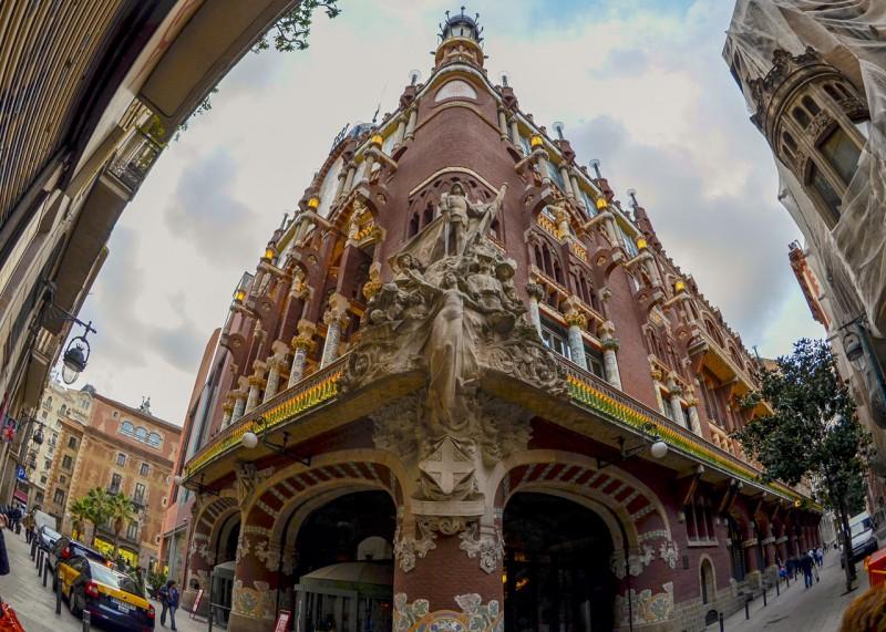 Главная скульптурная композиция дворца