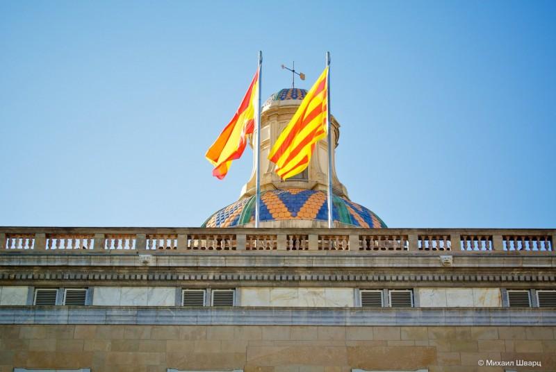 Флаги над дворцом