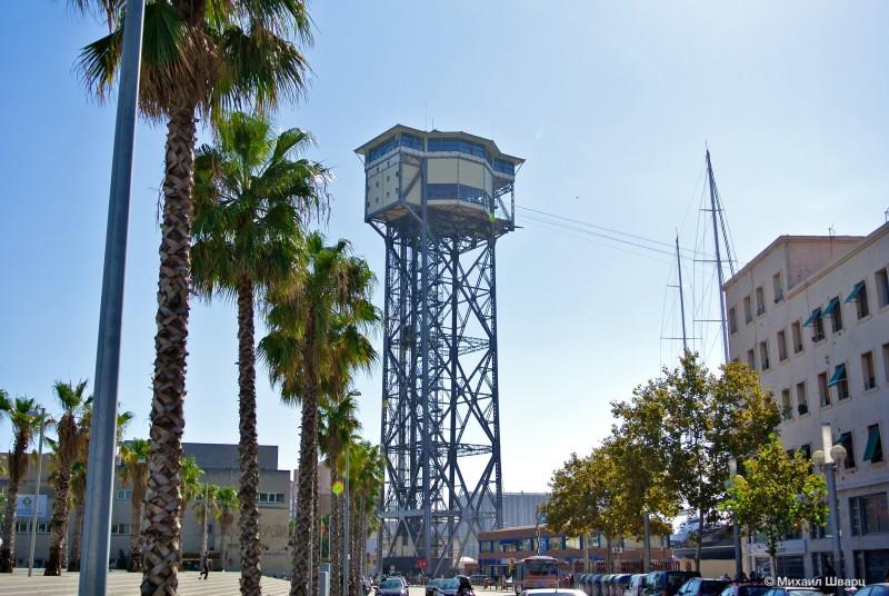 Башня Святого Себастьяна (Torre Sant Sebastiá)