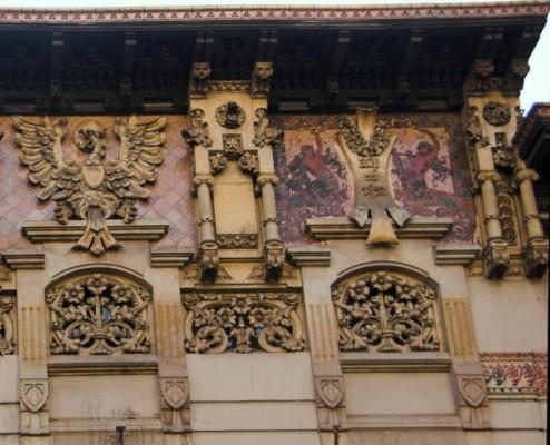 Дворец Рамон Монтанер (Palau Ramon Montaner)