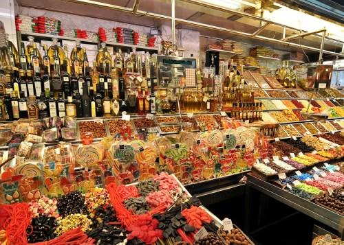Рынок Бокерия (Mercat de la Boqueria) или Сан-Жузеп (Sant Josep)