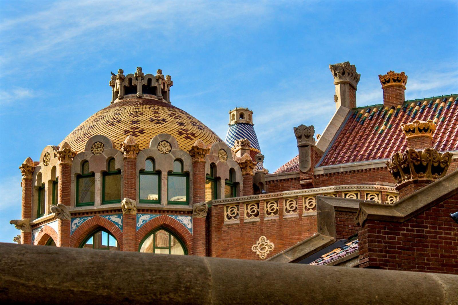 Крыша павильона Святого Леопольда (фото: Carlos Martin)