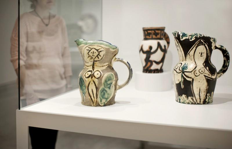 Коллекция керамики в Музее Пикассо