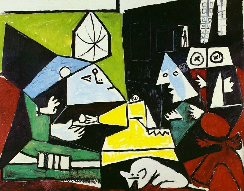Одна из 58 вариаций на тему «Менины» Пабло Пикассо