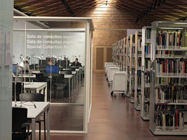 Библиотека MACBA