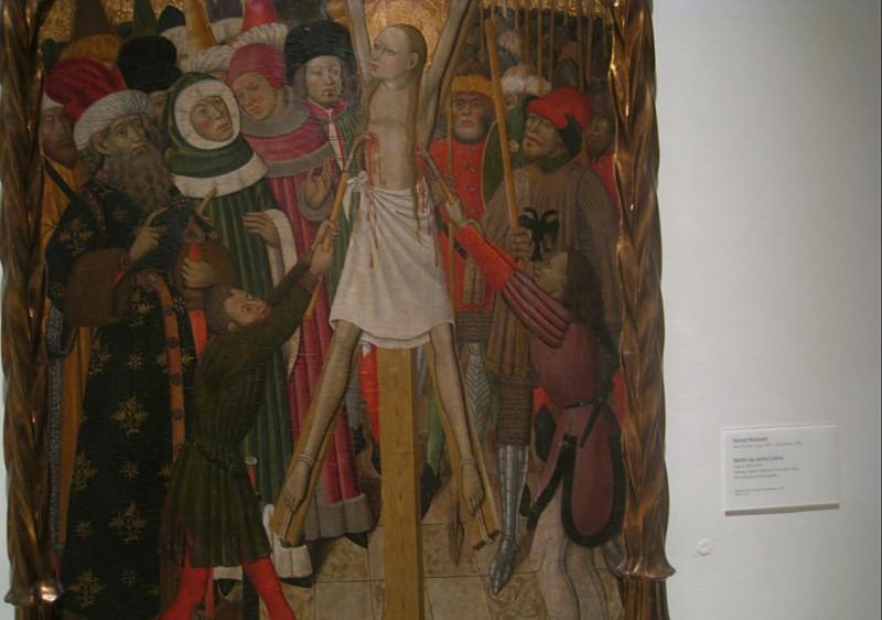 Мученичество Святого Эулалиа, XV век, Бернат Марторель