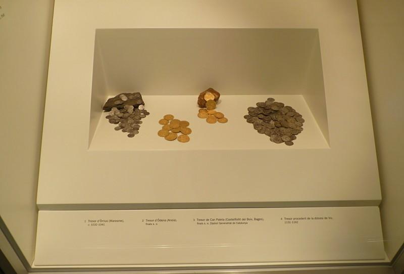 Монеты в Национальном музее искусства Каталонии