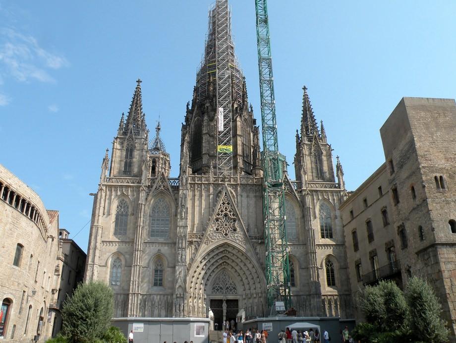 Барселонский собор catedral de barcelona
