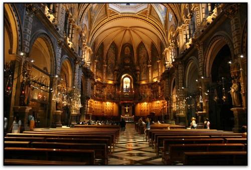 Монастырь Монтсеррат (кат. Monestir Santa Maria de Montserrat, исп. Monasterio de Montserrat)