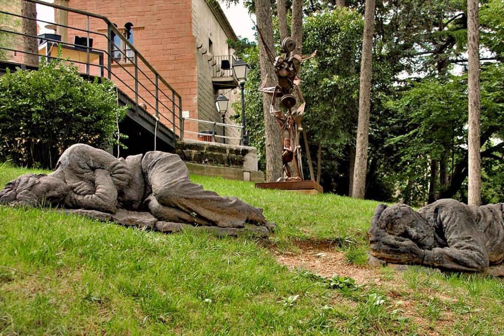 Спящая статуи в Саде Скульптур (фото: Peter)