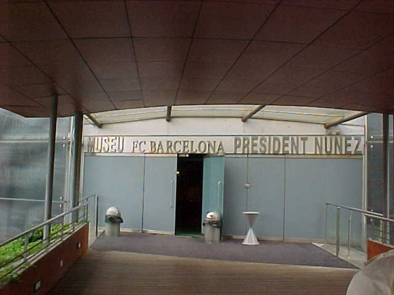 Музей футбольного клуба «Барселона» (Museo del Fútbol Club Barcelona)