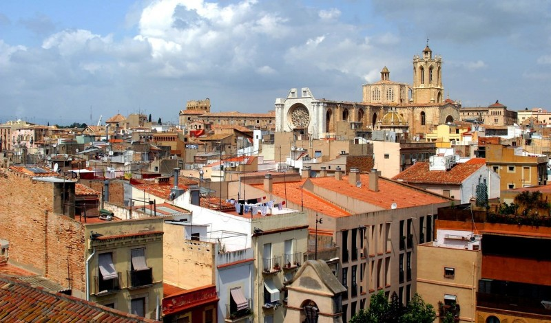 Вид на город Таррагона