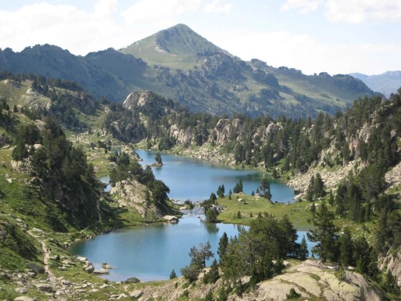 Озера в долине