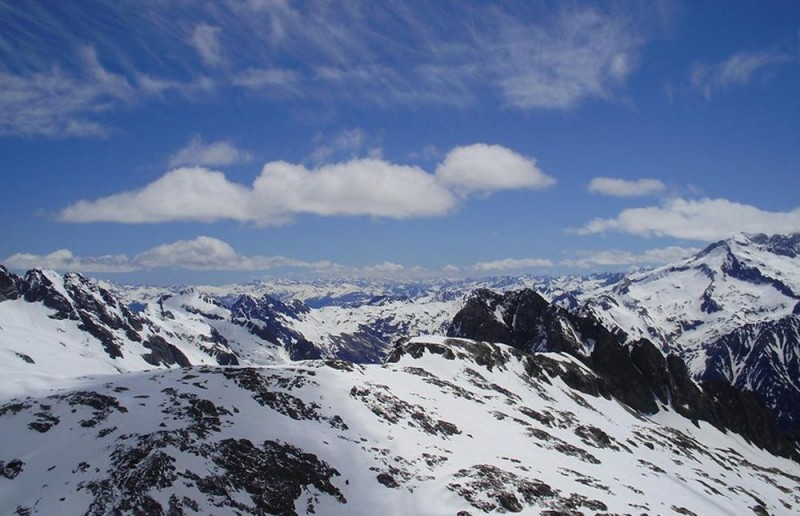 Снежные вершины долины Долина Валь-д'Арн