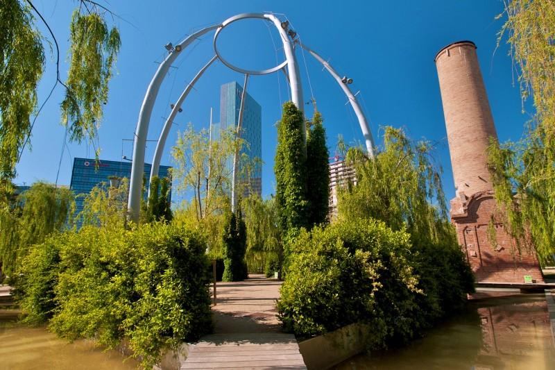 Парк Centre del Poblenou