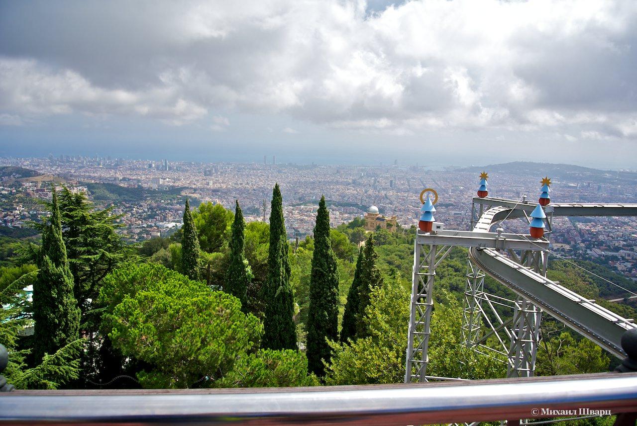 Как добраться на гору Тибидабо в Барселоне