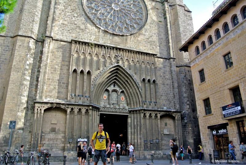 Готический собор Санта-Мария-дель-Пи