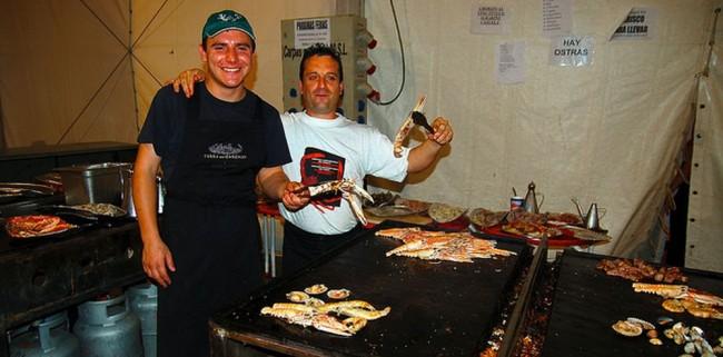Фестиваль морепродуктов (Fiesta del Marisco)