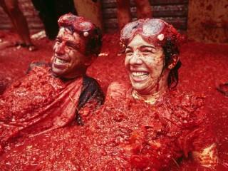 Испанский праздник «Томатина»