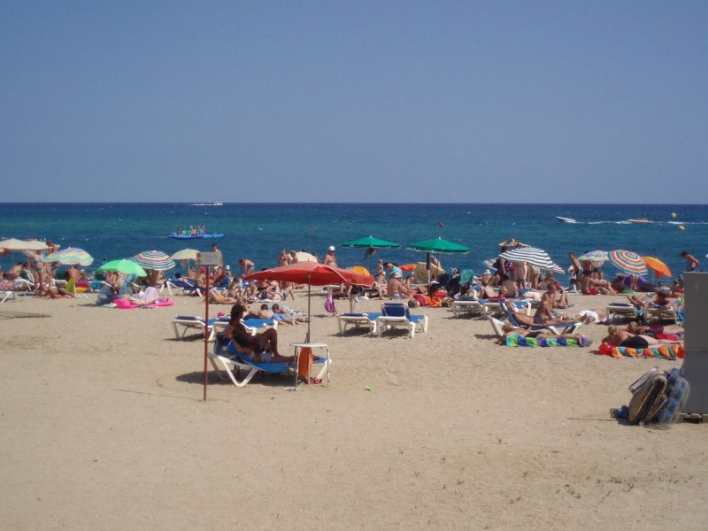 Пляж Мальграт де Мар
