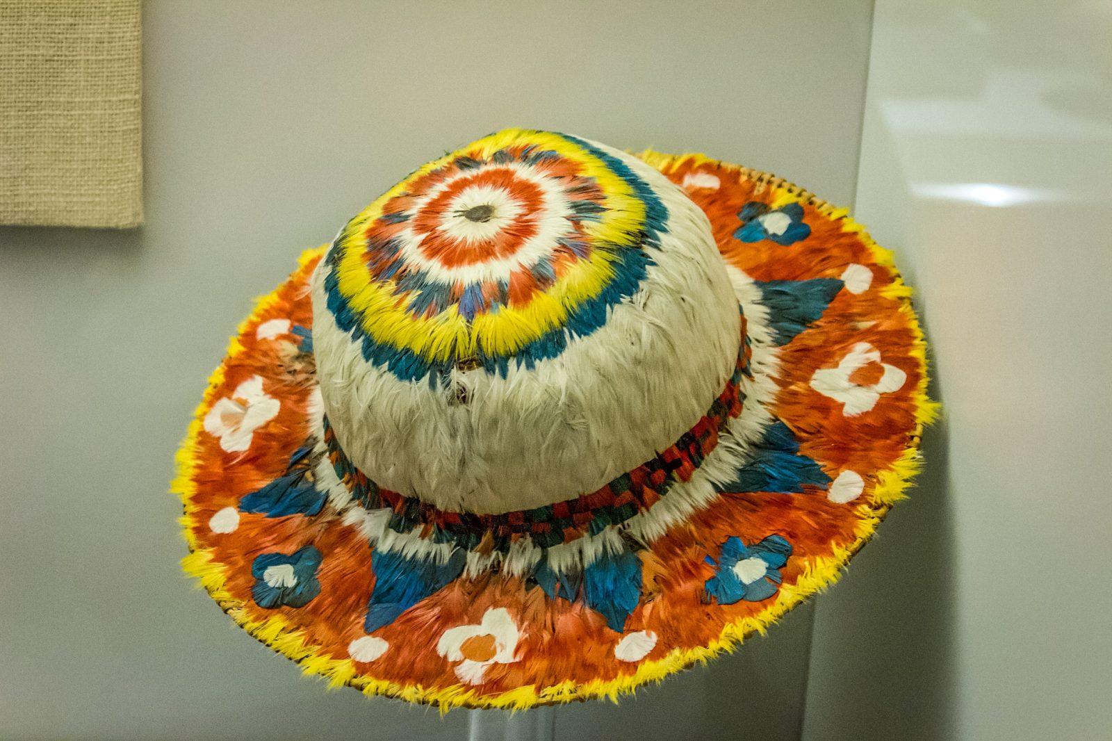 Шляпа, Перу, XVIII век