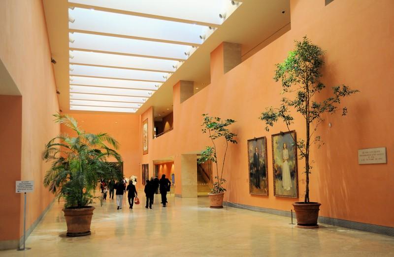В залах Музей Тиссена-Борнемисы (Museo Thyssen-Bornemisza)