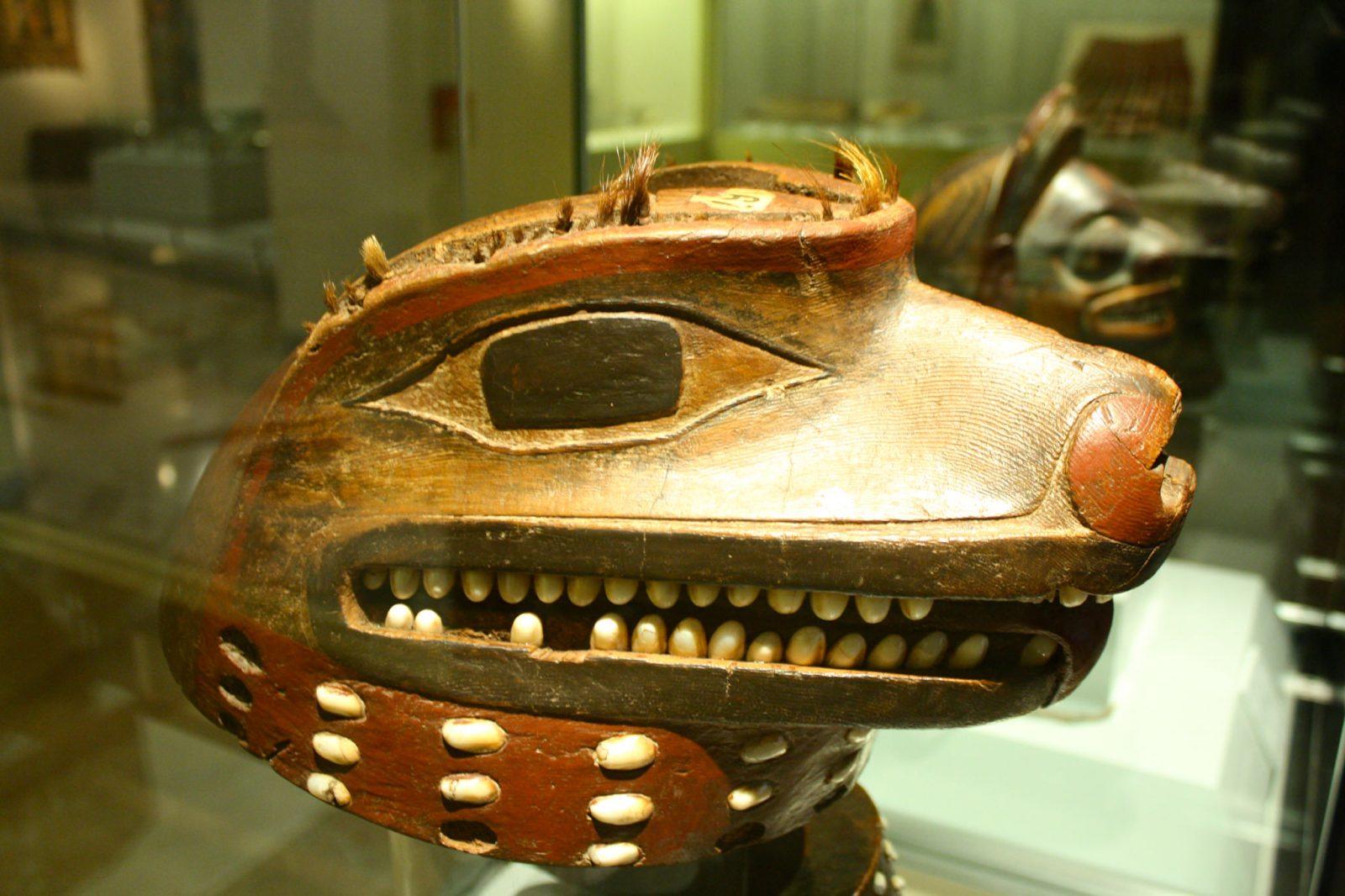 Голова Волка племени тлинкитов