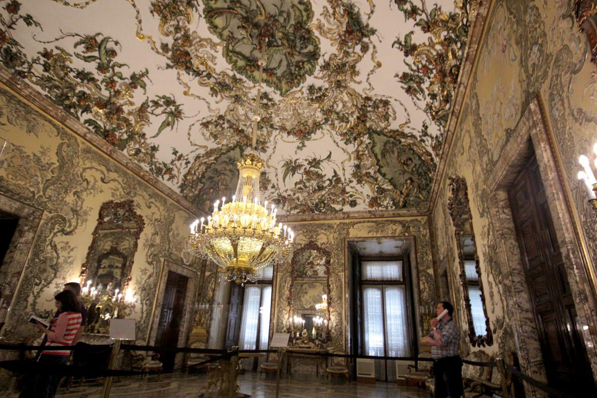 Палаццо реал мадрид залы дворца
