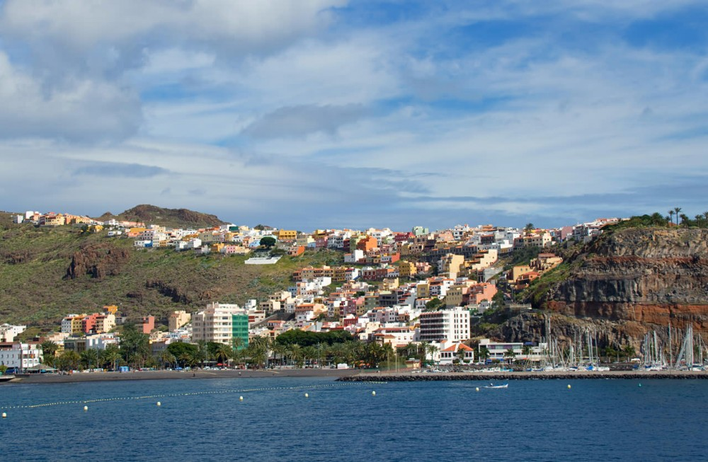 Столица острова Сан-Себастьян-де-ла-Гомера