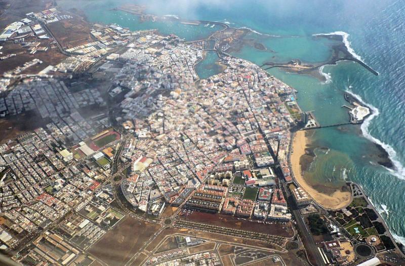 Столица острова Арресифе (Arrecife)