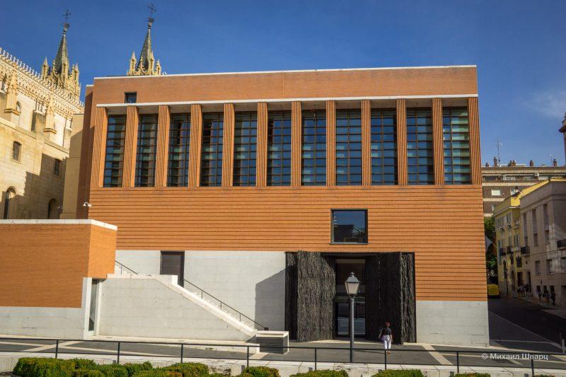 Музей Прадо, внешний вид нового здания