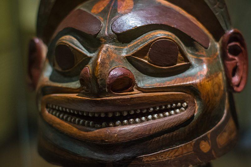 Шлем тлинкита, XVIII век