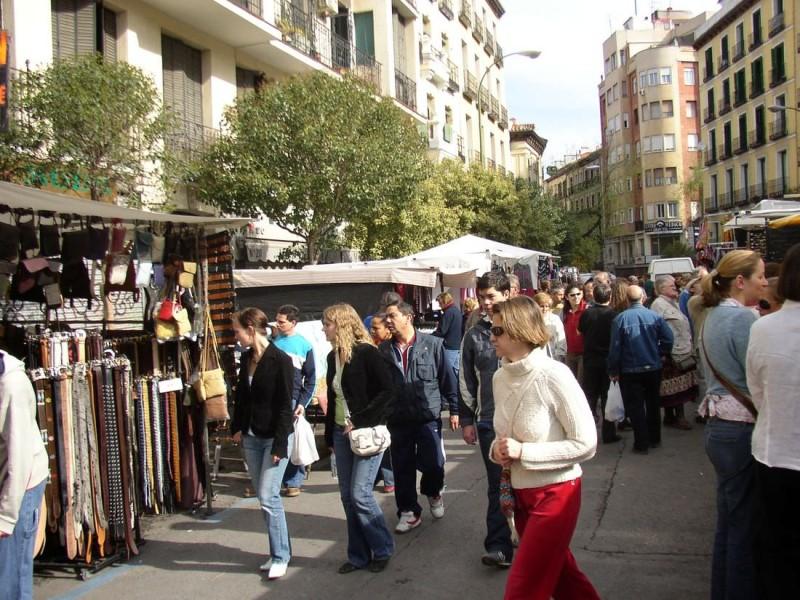 На рынке Эль Растро