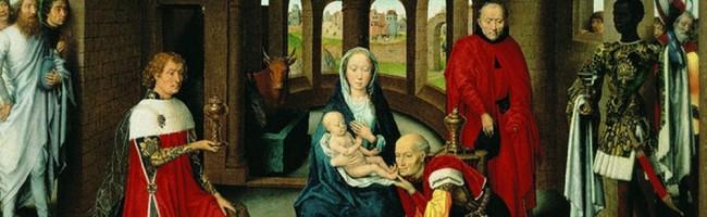 """Ганс Мемлинг """"Поклонение волхвов"""", ок. 1470г."""