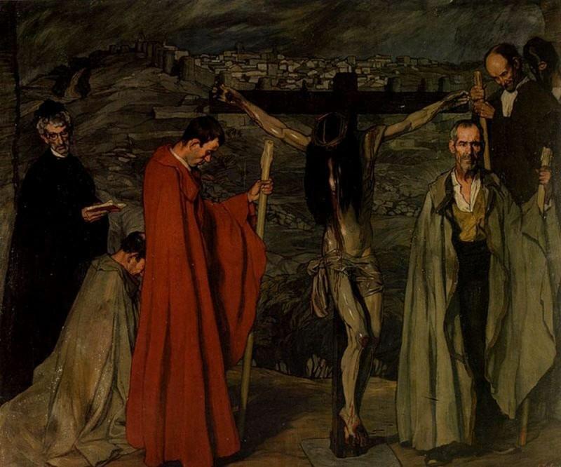 """Игнасио Сулоага """"Кровь Христа"""""""