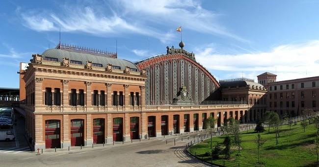 вокзал Аточа (исп. Estación de Atocha)