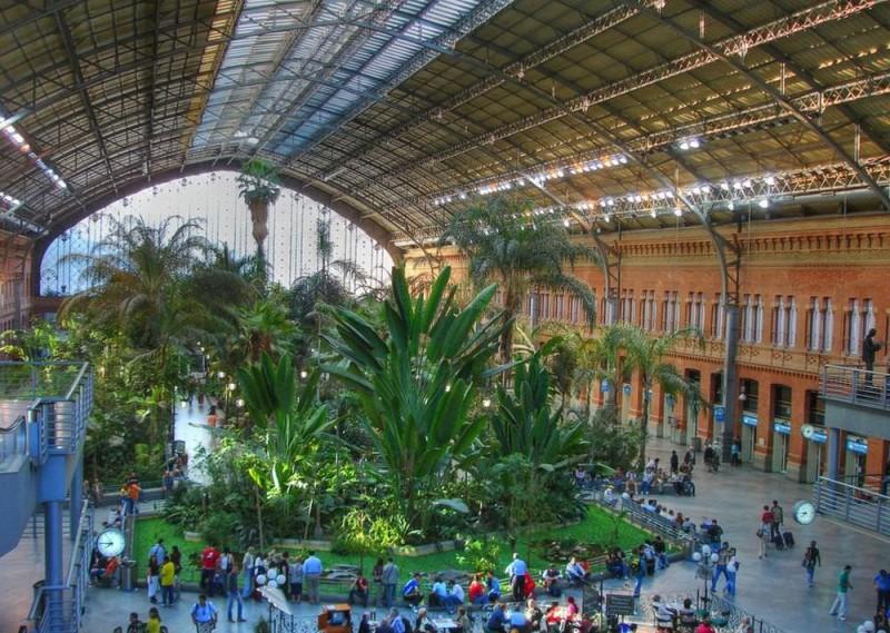 Вокзал Аточа (Estación de Atocha)