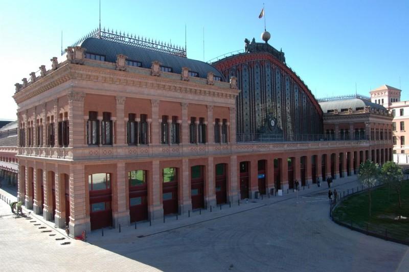 Вокзал Аточа(Estación de Atocha)