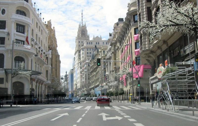 Улица Алкала (Calle de Alcalá)