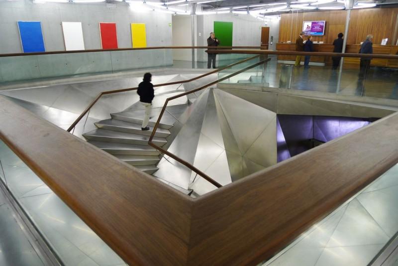Культурный центр «Кайкса Форум» Мадрида (CaixaForum Madrid)
