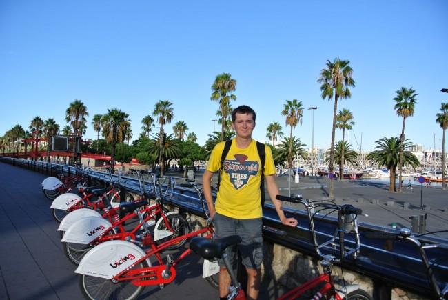 Солнечная Барселона. Отчет 1 дня 83