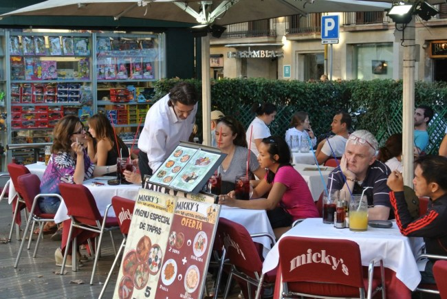 Солнечная Барселона. Отчет 1 дня 92