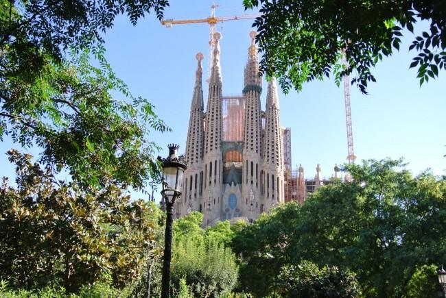 Барселона – гора Тибидабо и Собор (Мой отчет) 62