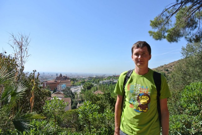 Барселона – гора Тибидабо и Собор (Мой отчет) 73