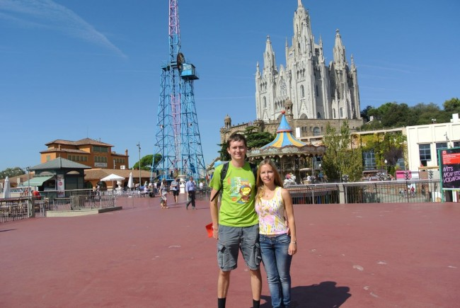Барселона – гора Тибидабо и Собор (Мой отчет) 76
