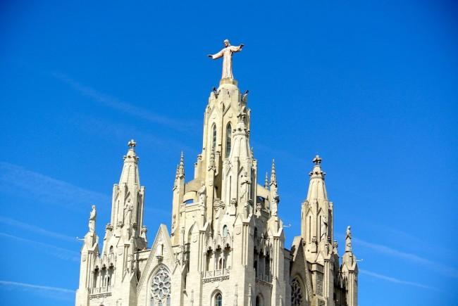 Барселона – гора Тибидабо и Собор (Мой отчет) 77