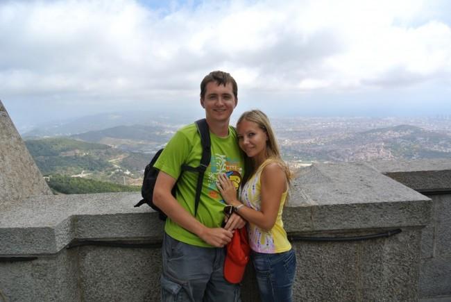 Барселона – гора Тибидабо и Собор (Мой отчет) 81